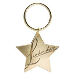 Leadership Star Key Tag