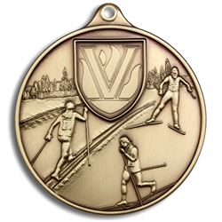 Cross Country/Nordic Ski Award Medal