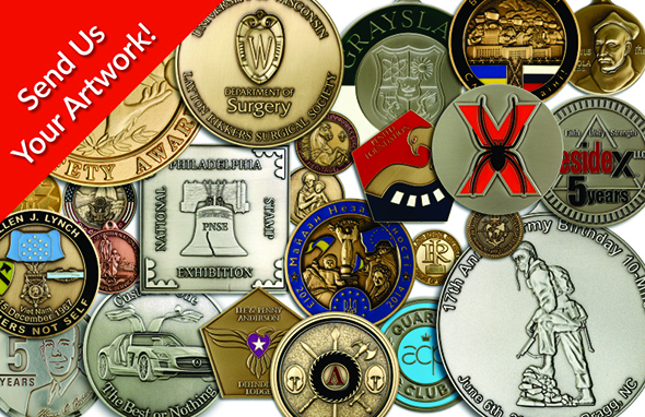 Custom Made Award Medals and Coins | USA Made Medals